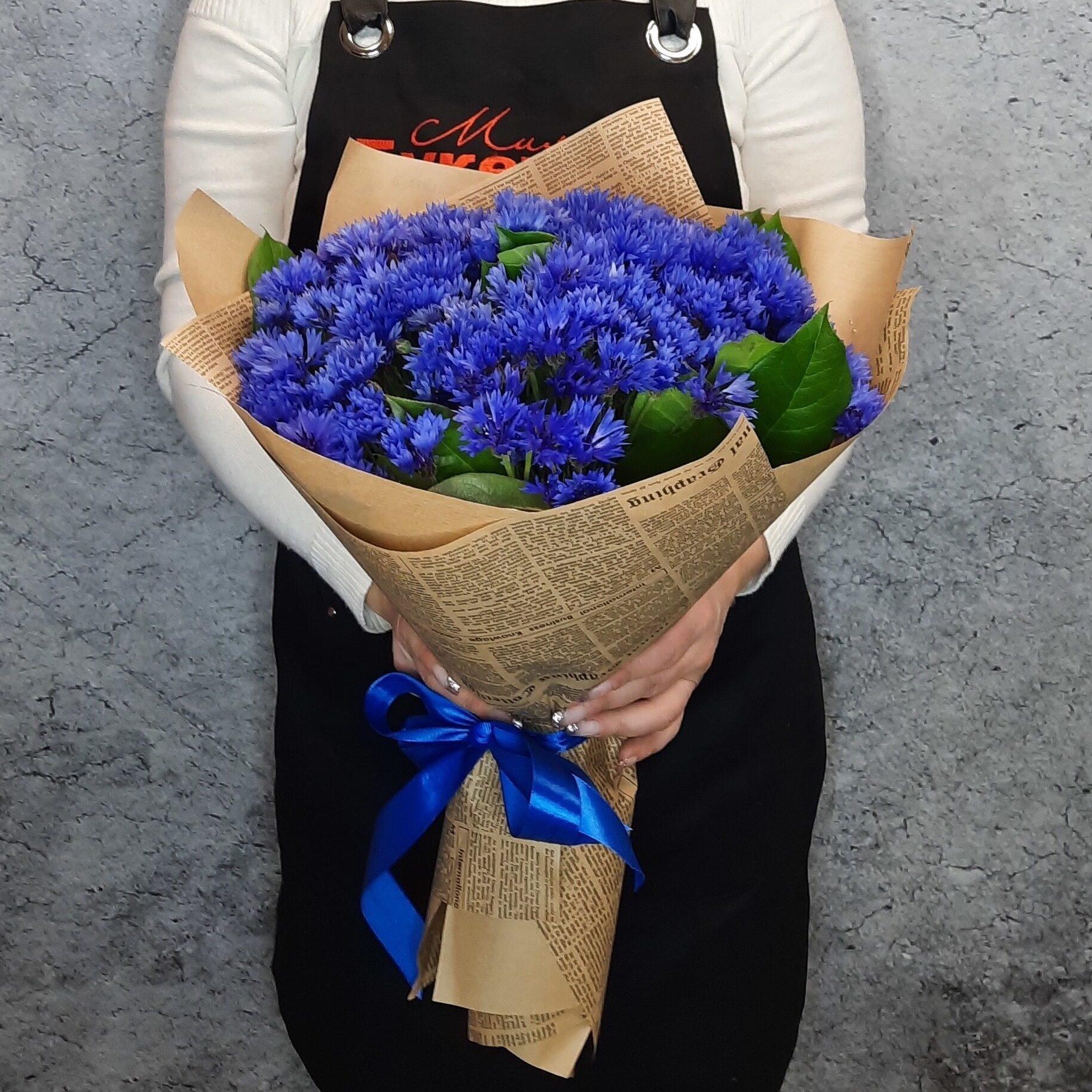Цветы васильки купить москва
