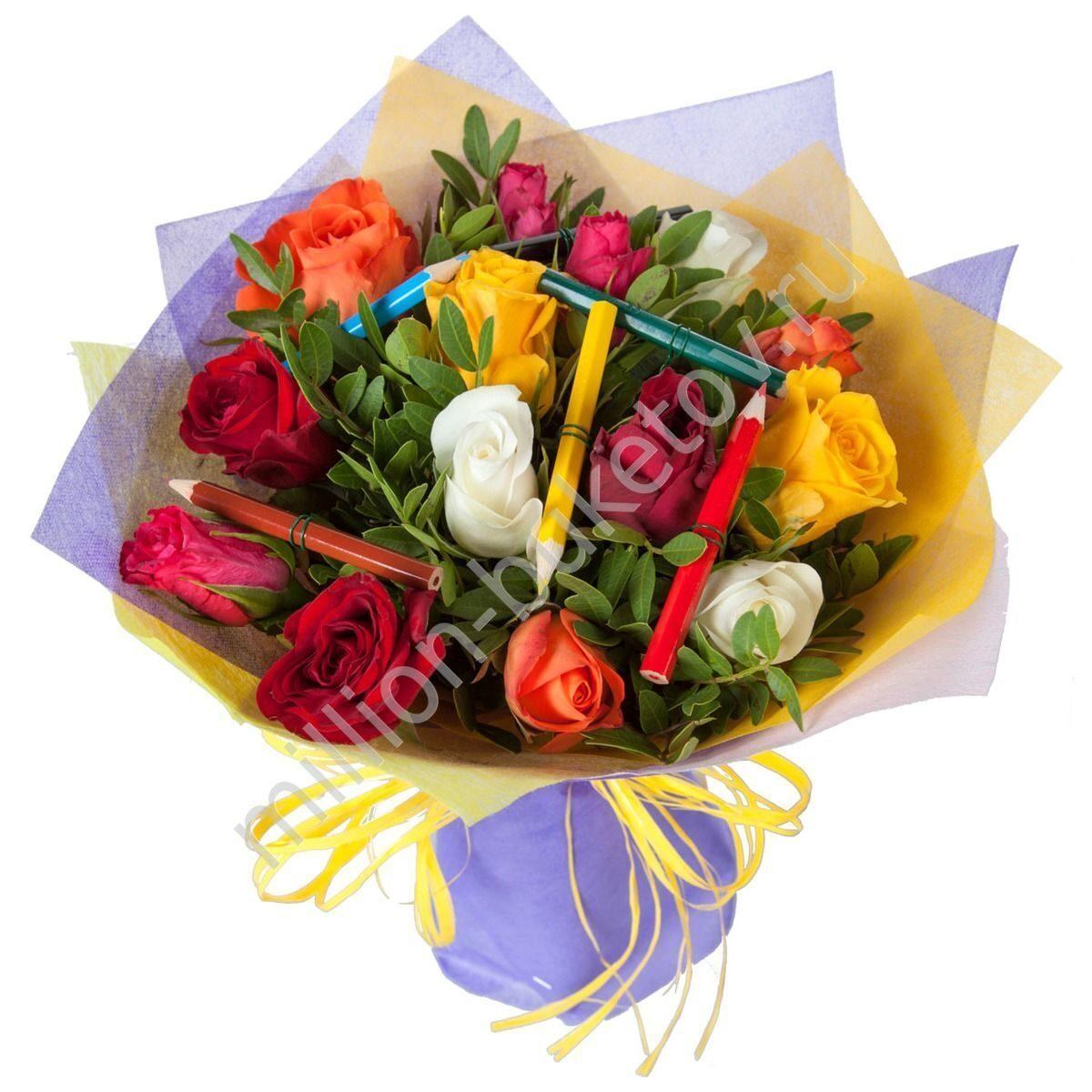 Цветы на 1 сентября заказать