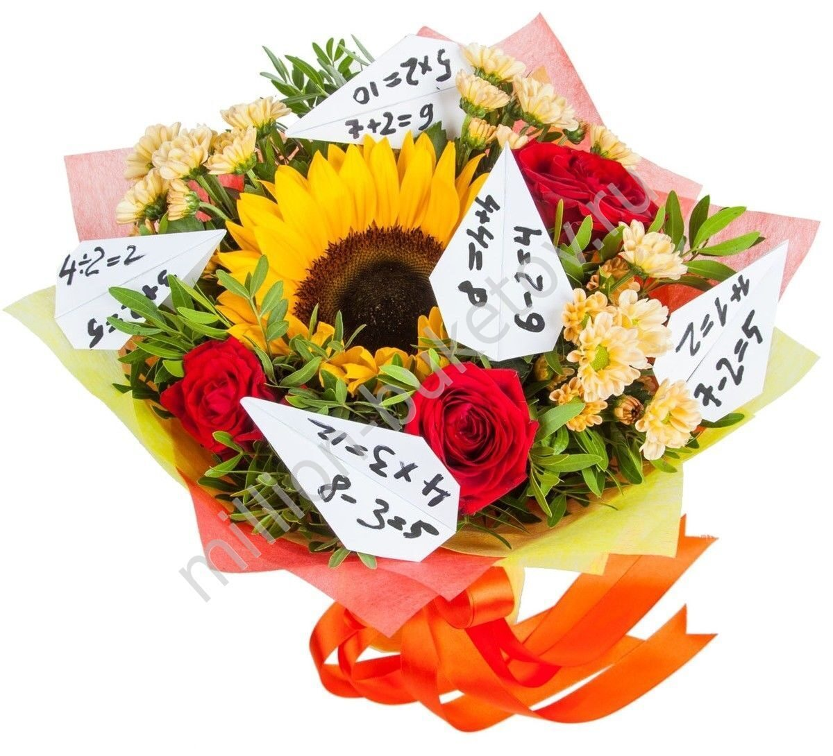 Какие цветы на 1 сентября подарить учителю? Советы флориста 78