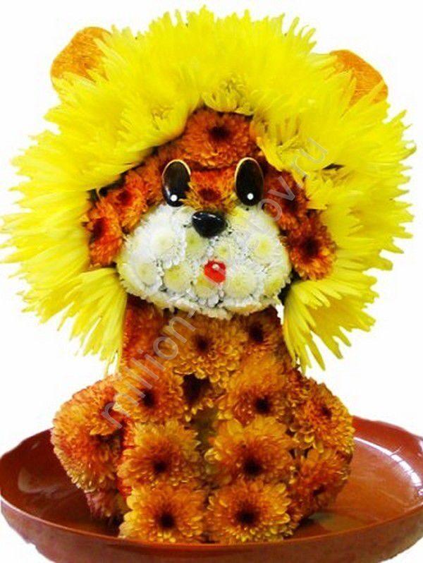 Цветы лев
