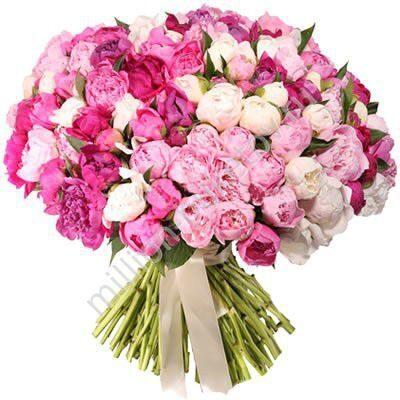 Цветов ильинский огромный букет пионов купить букет